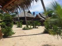 Maia Beach na ilha Filipinas de Bantayan fotos de stock royalty free