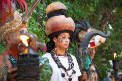 Maia de México Fotografia de Stock Royalty Free