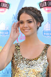 Maia Mitchell. LOS ANGELES, CA - AUGUST 11, 2013: Maia Mitchell at the 2013 Teen Choice Awards at the Gibson Amphitheatre, Universal City, Hollywood Stock Images