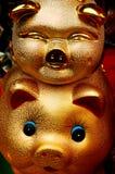 Maiale cinese del nuovo anno Fotografia Stock