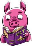 Maiale di dieta Fotografie Stock Libere da Diritti
