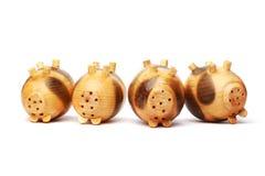 Maiale di legno Fotografie Stock