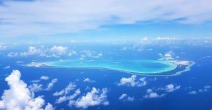 Maiana Atoll, Kiribati immagine stock libera da diritti