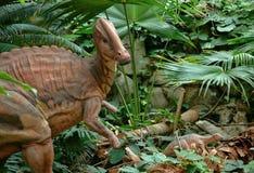 Maiasaur and babies Stock Image