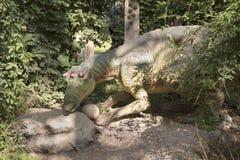 Maiasaura- último /74 cretáceo hace millón de años En el Dinopa Fotografía de archivo