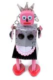 Maid 4 - vintage robot toy. Retro toy Royalty Free Stock Photo