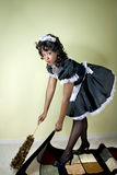 Maid caught red handed Royalty Free Stock Photos