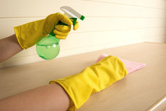 Maid and household chores Stock Photography