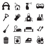 Maid Icons Royalty Free Stock Photo