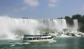 Maid of the mist 5. Taken at niagara falls Stock Image