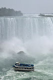 Maid Of The Mist, Horseshoe Fall Niagara Falls Ontario Canada Stock Photography