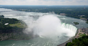 Maid of the Mist at Horseshoe falls Royalty Free Stock Photo