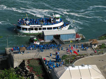 Maid of the Mist Loading Royalty Free Stock Photos