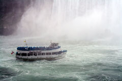 Maid in the Mist, Niagara Falls Royalty Free Stock Photos
