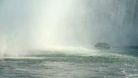 Maid of Mist at Niagara Falls Royalty Free Stock Photo