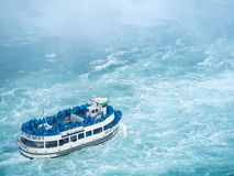 Maid of the mist Niagara Falls Closeup Royalty Free Stock Photos