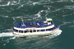 Maid of the mist, Niagara Falls Stock Images