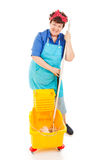 Maid with Positive Attitude Stock Photos