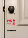 Maid Service Stock Photography