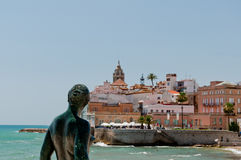 Maid of Sitges Stock Photography
