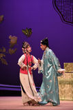 "The maid with the student-Kunqu Opera ""the West Chamber"" Stock Photo"
