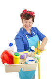 Maid At Your Service royalty free stock photography