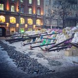 Maidan Foto de archivo libre de regalías