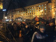 Maidan Στοκ Φωτογραφία