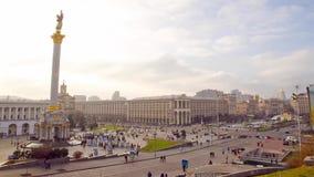 Maidan al año después de la revolución metrajes