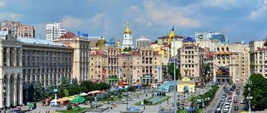 Maidan - Kyiv, Ucraina Fotografia Stock Libera da Diritti