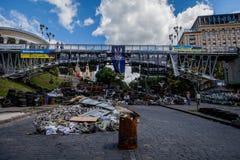 Maidan nezalezhnosti Royaltyfria Foton