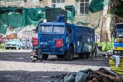 Maidan Nezalezhnosti i Kiev Royaltyfri Bild