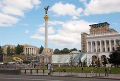 Maidan Nezalezhnosti (Independence Square), Kiev Royalty Free Stock Photos