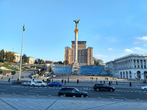 Maidan Nezalezhnosti Kiev Photos stock