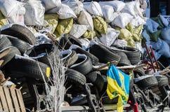 Maidan protesta el 31 de enero de 2014 en Kiev, Ucrania Fotos de archivo libres de regalías