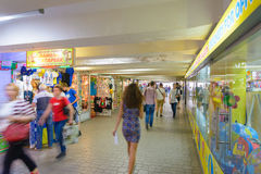 Maidan Underground Shops Royalty Free Stock Photos