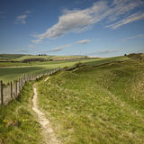Maiden Castle Royalty Free Stock Image