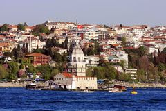 The Maiden's Tower Royalty Free Stock Photo