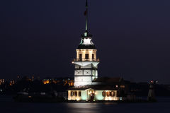 The Maiden's Tower Royalty Free Stock Image