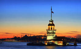 Maiden's Tower Royalty Free Stock Image