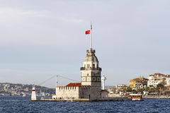 Maiden's Tower. Istanbul,Turkey Royalty Free Stock Photo