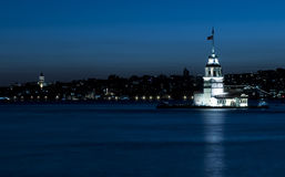 The Maiden's Tower Royalty Free Stock Photography