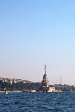The Maiden's Tower (Istanbul) Stock Photography