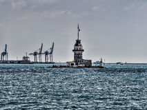 The Maiden's Tower in istanbul Royalty Free Stock Image