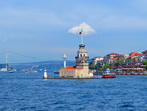 The Maiden's Tower Stock Images