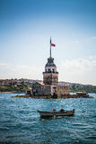 Maiden's Tower -  Istanbul, turkey Stock Photo