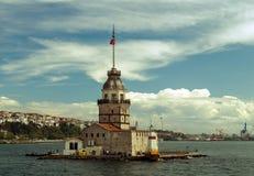 Maiden's Tower, Istanbul, Turkey Royalty Free Stock Photo