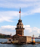 Maiden's Tower in Istanbul, Turkey Stock Photos