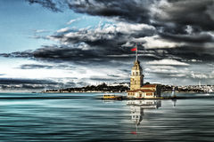 Maiden's Tower in Istanbul Royalty Free Stock Photos