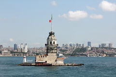 Leander`s Tower / Kız Kulesi in Istanbul Stock Images